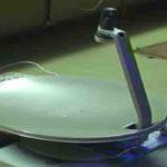 antena invertida banda ku motorizada