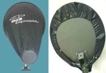 capa para antena parabólica