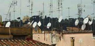 distancia antena parabólica