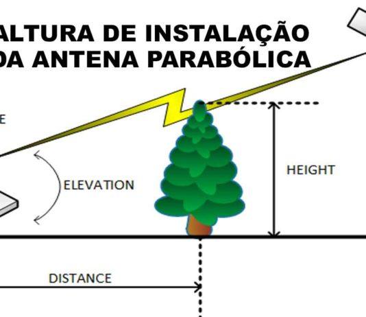 instalar antena parabolica altura minima