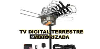 antena tv digital terrestre motorizada