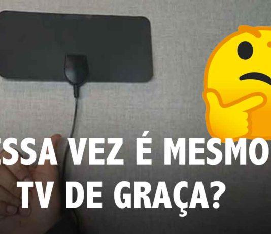 antena tv de graça