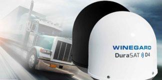 antena parabólica para caminhão