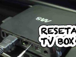 COMO RESETAR TV BOX