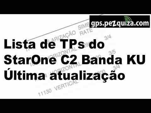 lista tps canais starone c2 c4