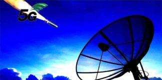 5G Banda C satelite
