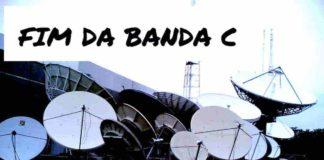 Fim Banda C TV analógica via satélite