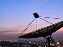 sinal satélite enfraquecendo