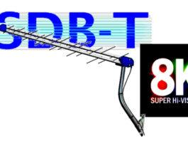 ISDB-T 8K TV digital terrestre