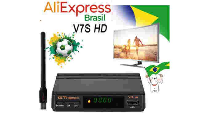 Aliexpress receptores iptv estoque brasil