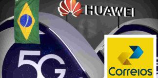 5g huawei correios china investimento bilionario