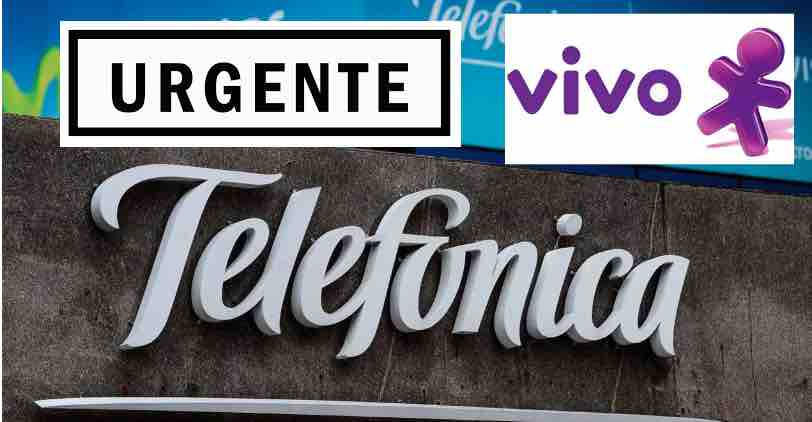 telefonica urgente novidades brasil