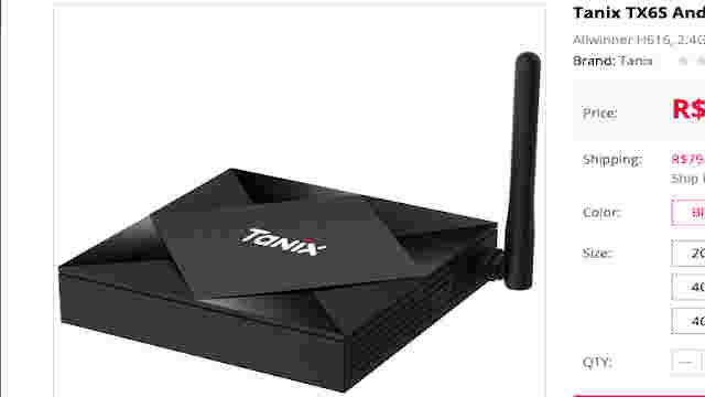 tv box tanix tx6s android 10 gearbest