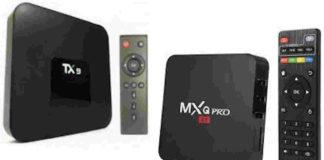 TX9 e MXQ Pro TV Box à venda em atacadistas chineses em Goiânia
