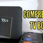 COMPREI TV BOX TX9