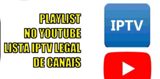 lista iptv legal playlist no youtube canais