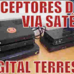 Receptor de tv digital via satélite, conversor de tv digital terrestre e decodificadores de operadoras de tv por assinatura