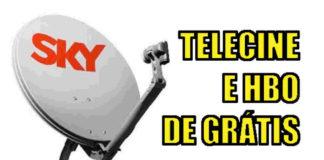 RECARGA PROGRAMADA SKY PRÉ PAGO TELECINE HBO GRÁTIS