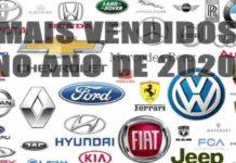 CARROS MAIS VENDIDOS 2020