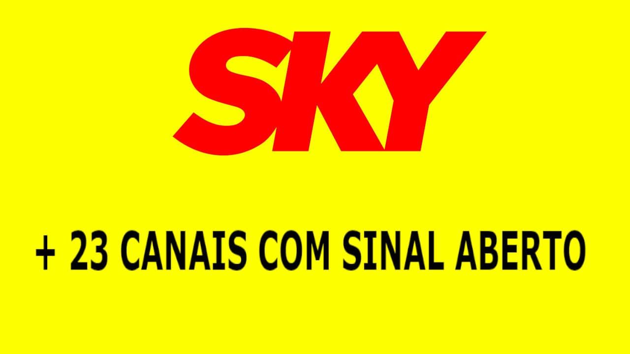 LISTA CANAIS ABERTOS SKY CORONAVIRUS COVID19