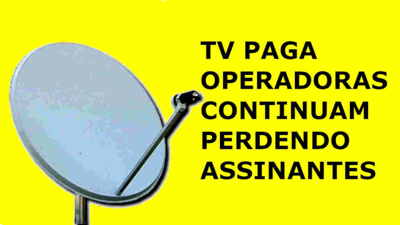 TV POR ASSINATURA PERDA ASSINANTES