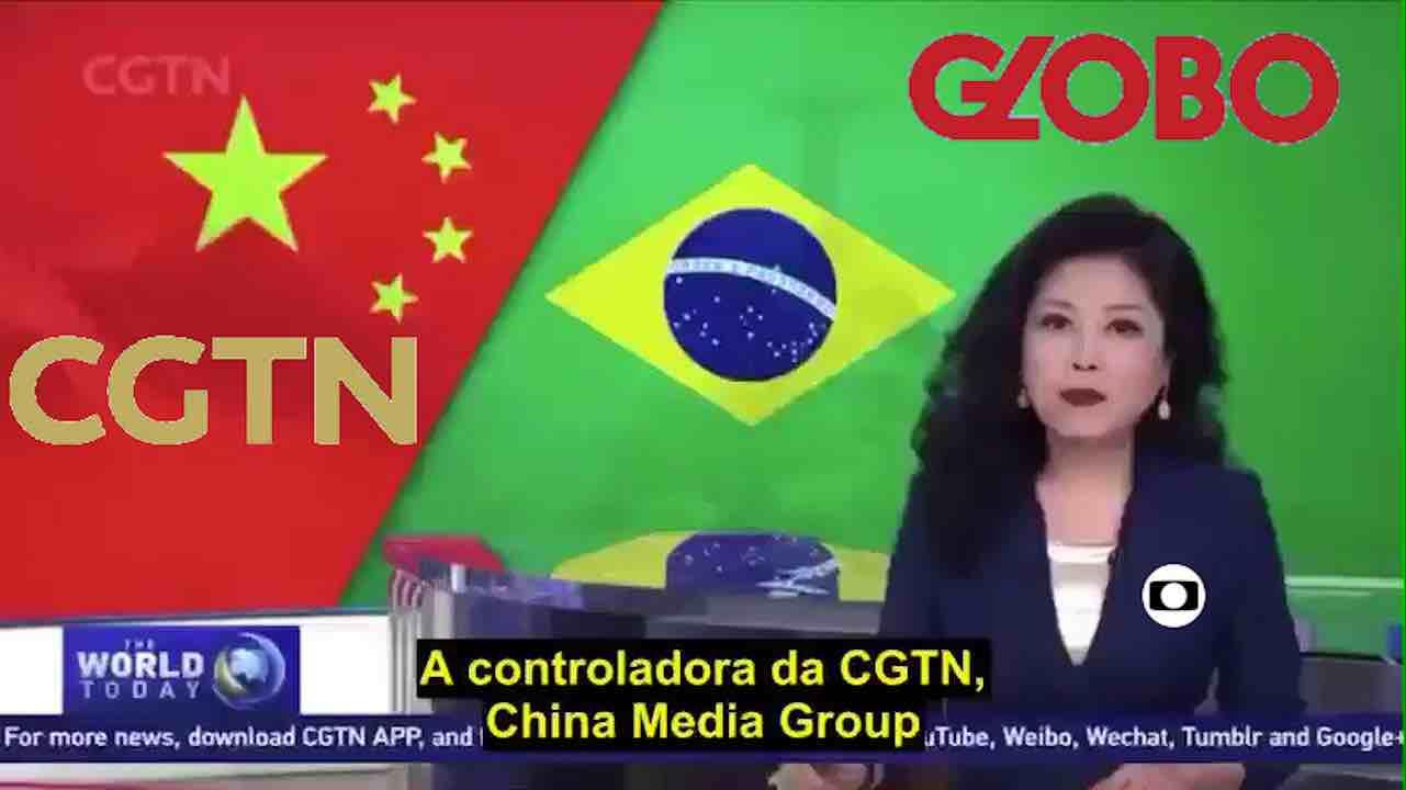 globo tv estatal chinesa