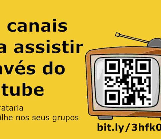 canais assistir online playlist youtube