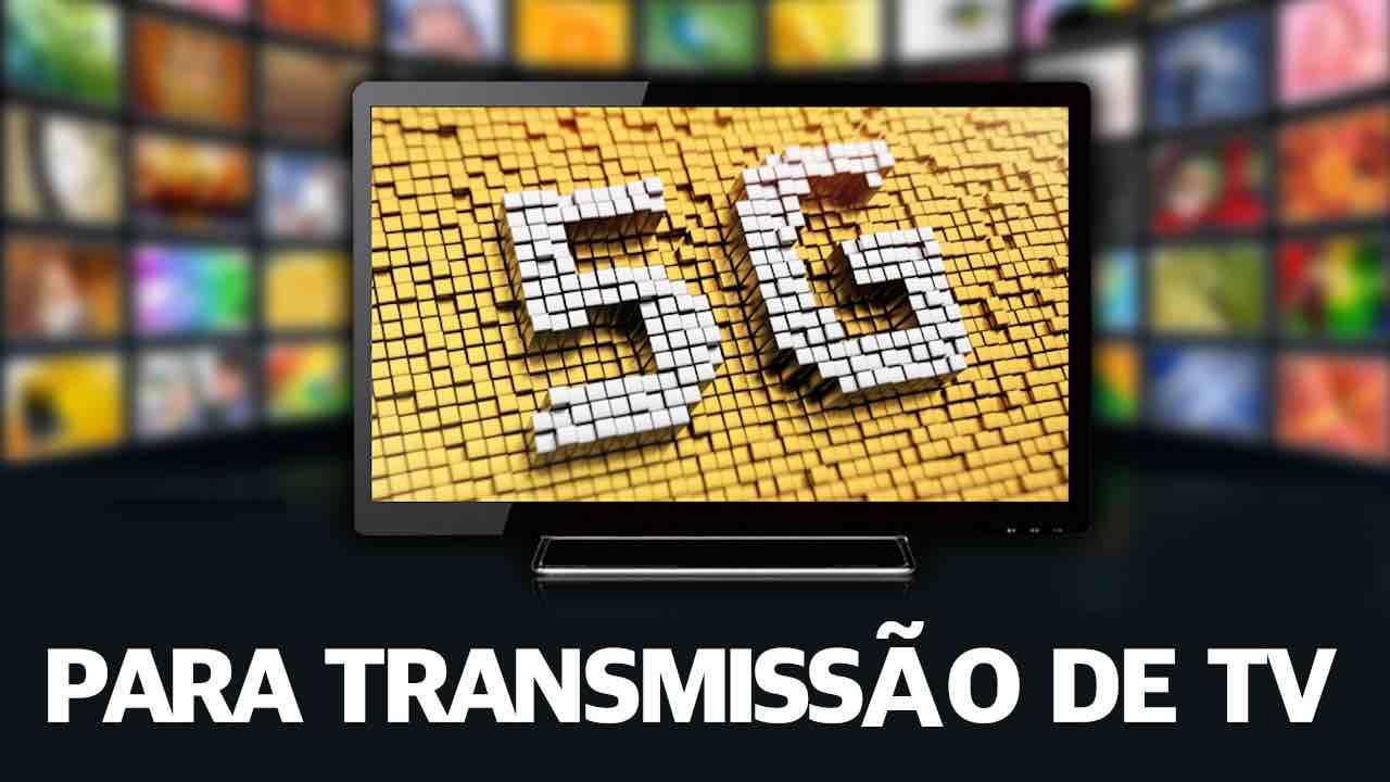 5g transmissão tv