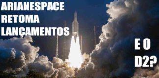arianespace lançamento starone d2