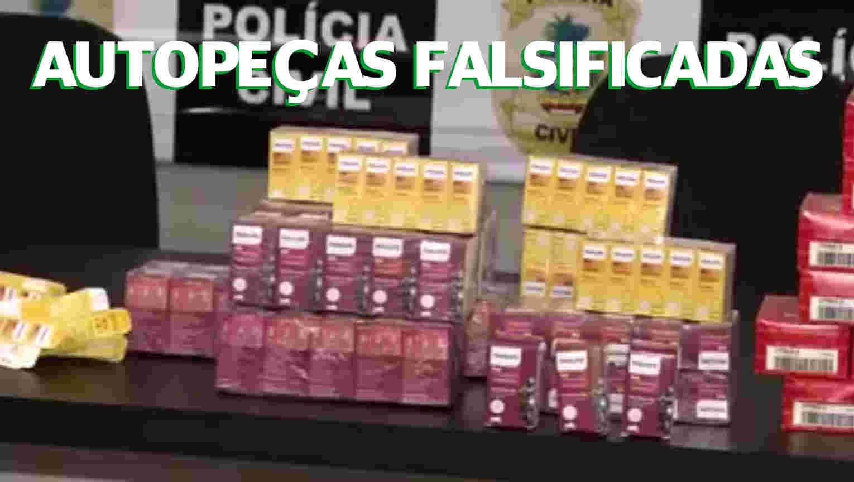 PIRATARIA DE AUTOPEÇAS FALSIFICADAS