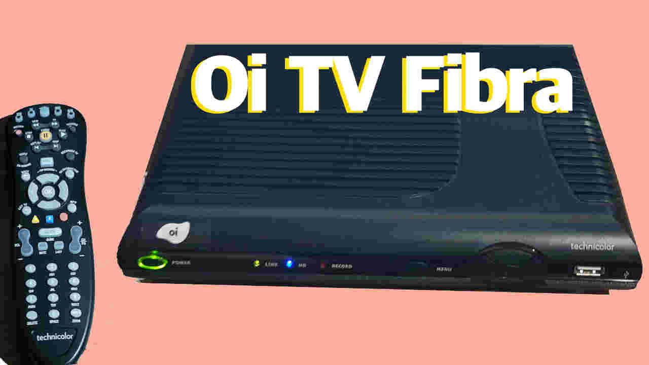 OI TV Fibra lista de canais com numeração