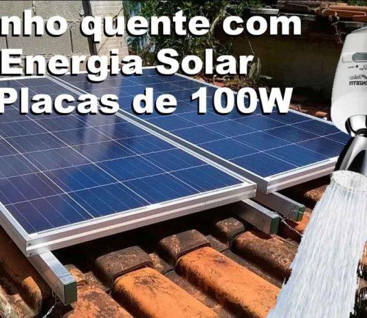 banho quente energia solar