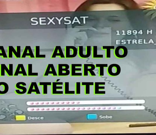 canal adulto sinal aberto satélite