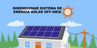 dimensionar energia solar off grid bateria controlador de carga painel solar