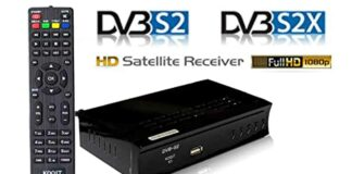 receptor de tv via satelite dvbs2x
