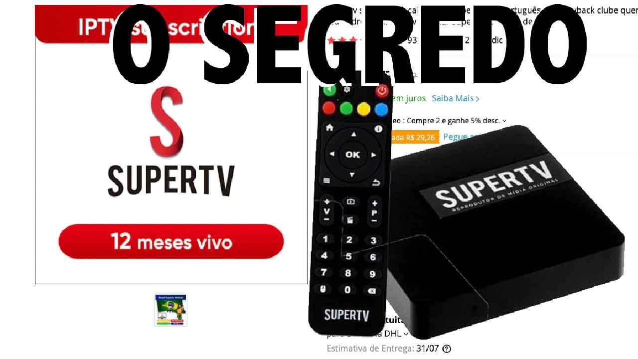 supertv servidor iptv Brasil