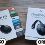 chromecast falso