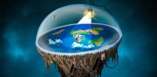 satélite terra plana rastreamento aviões navios