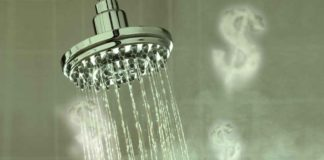 economizar energia água banho 48v