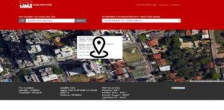 dados apontamento antena parabolica dishpointer localizar satélite