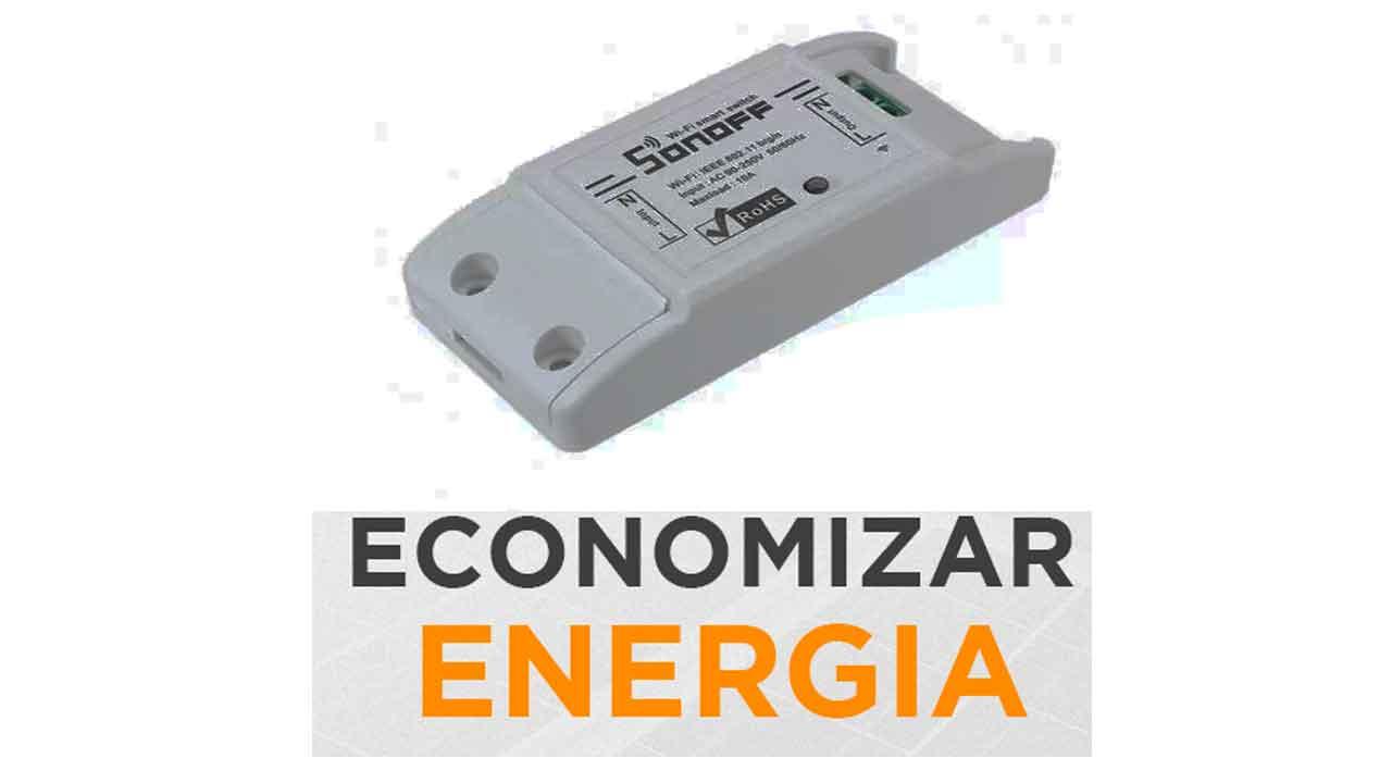 sonoff economizar energia