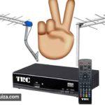 duas antenas tv terrestre mesmo receptor