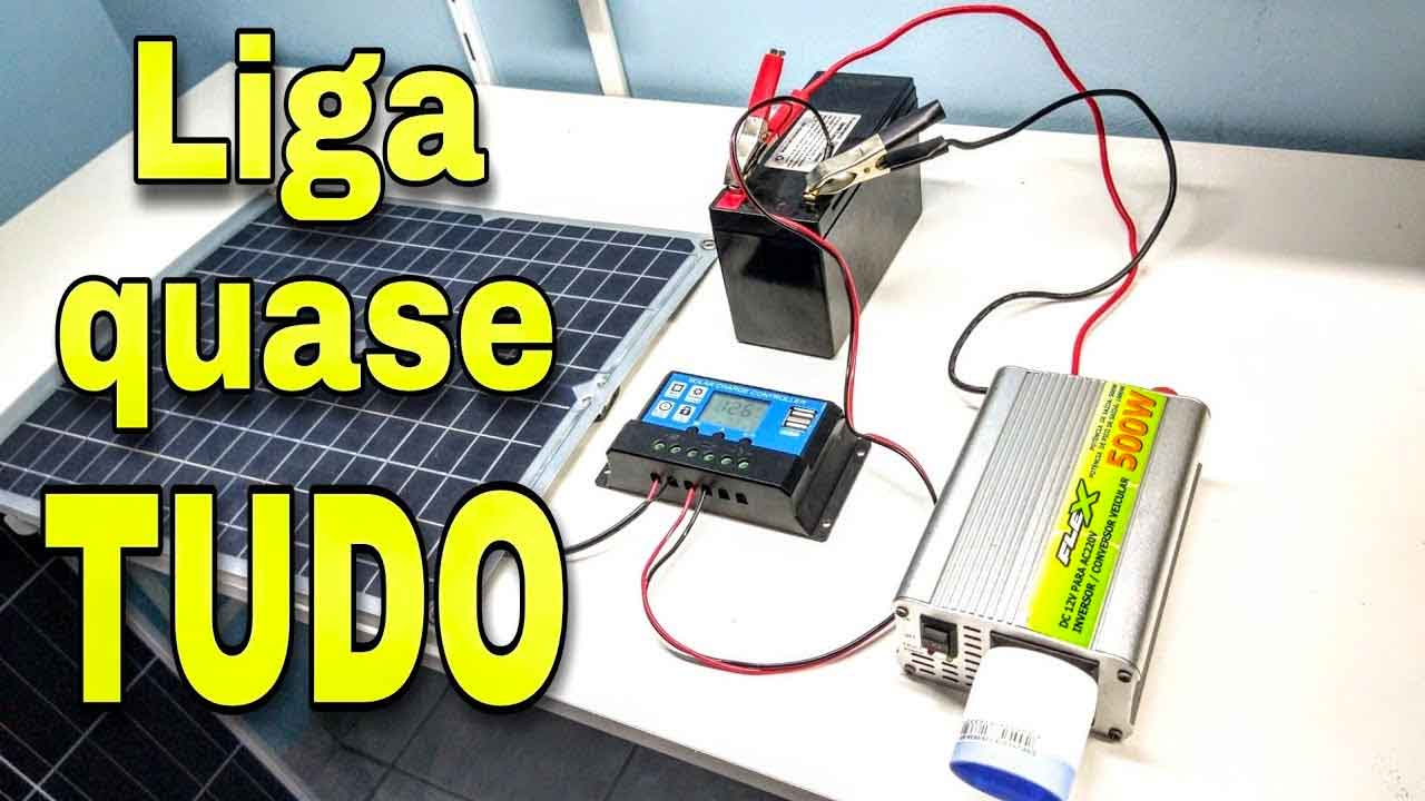 mini kit energia solar