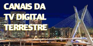 lista de canais tv digital terrestre grande sÁ£o paulo