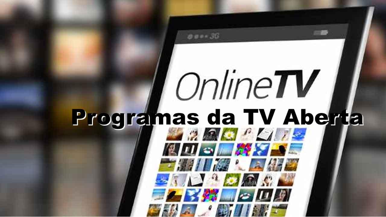 assistir online programas da tv aberta