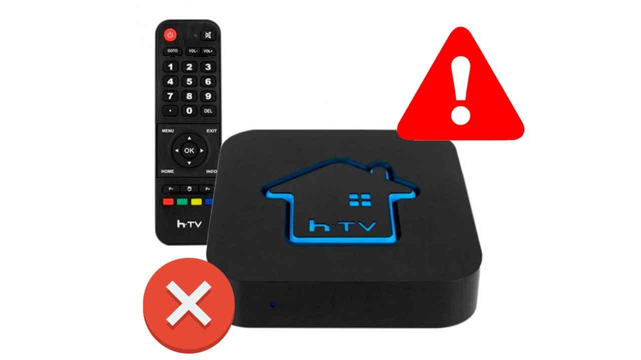 HTV 5 reiniciando erro travado