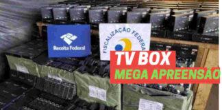 TV BOX IPTV APREENSAO