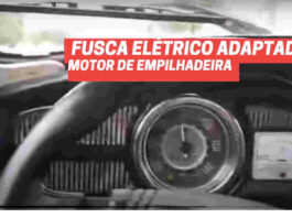 fusca eletrico motor empulhadeira