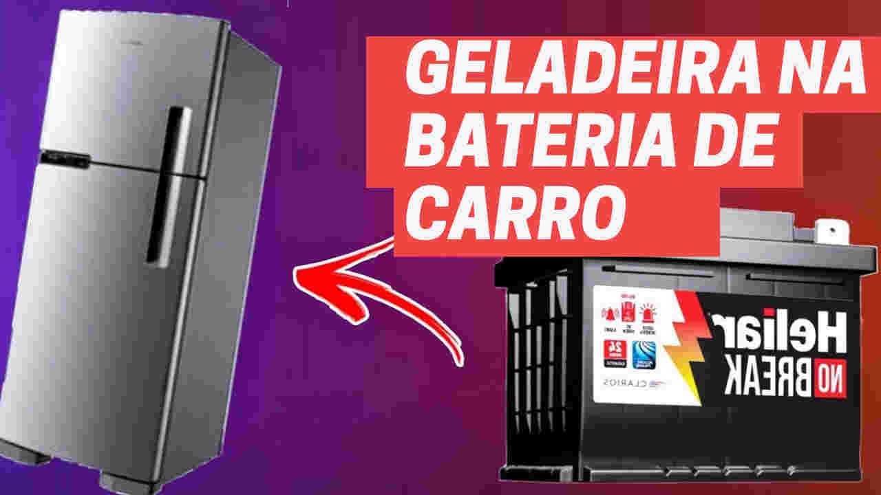 geladeira na bateria automotiva