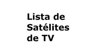 lista de satelites de tv captaveis no Brasil
